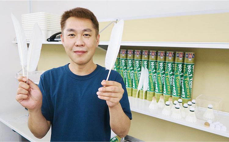 シャトル専門メーカーRSLジャパン社長の永吉